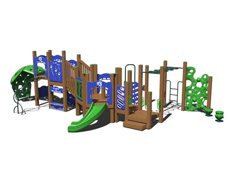 composite swing sets ggr3 0007 composite playset affordable playgrounds by