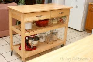 Kitchen Islands With Wheels the cozy old quot farmhouse quot another quot make do quot kitchen