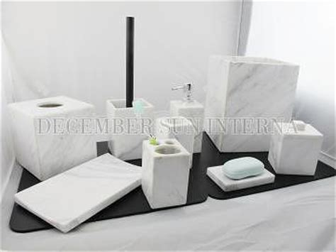 Taiwan Wholesale Hotel Balfour Stone Marble Bathroom Hotel Balfour Bathroom Accessories