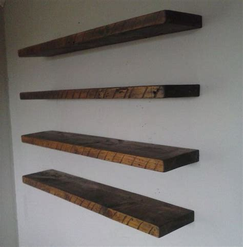 free floating shelves 6 quot x 2 quot floating shelf 100yo reclaimed barn wood your choice of length s free shipping in