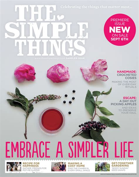 8 Simple Things Want by The Simple Things Magazine Mollie Makes