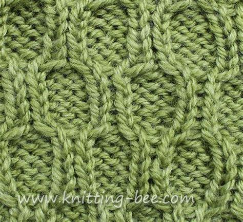 how to knit honeycomb stitch honeycomb trellis cable knitting stitches cables