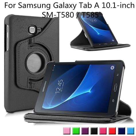 Samsung Tab A 10 Inch 360 degrees rotating stand cover for 2016 release samsung galaxy tab a 10 1 inch tablet sm