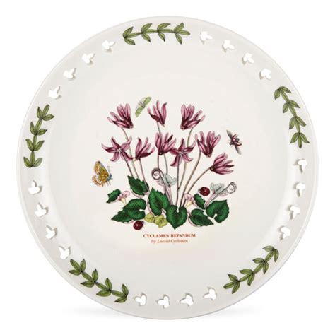 Portmeirion Dinnerware Botanic Garden Collection Portmeirion Botanic Garden Pierced Plate 8 5 Quot Cyclamen 22 75 You Save 9 75