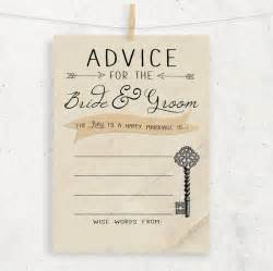 advice to the cards instant advice for the groom wedding bridal show