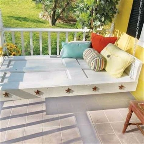 how to build a porch swing bed dishfunctional designs this ain t yer grandma s porch