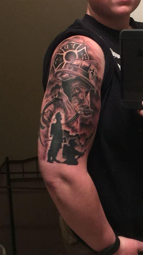 deja vu tattoo best 25 firefighter tattoos ideas on fireman