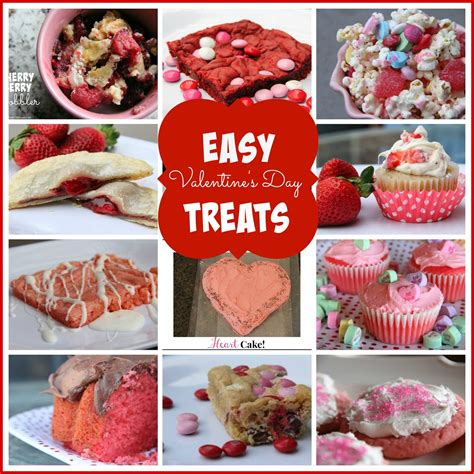 valentines treats easy s day treats mix and match