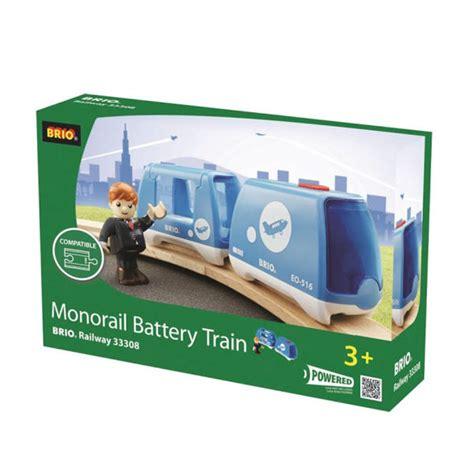 brio battery train brio battery powered monorail train toys zavvi com