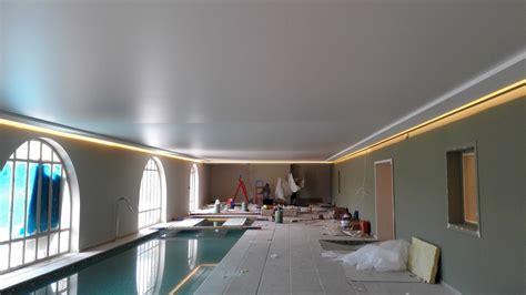 Plafond Tendu Mat by Plafond Tendu Acoustique Pose De Toile Et Plafond Tendu