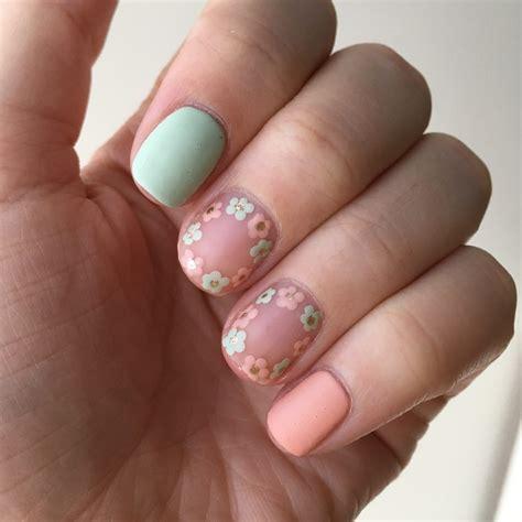 corner bead nails matte floral nails s corner