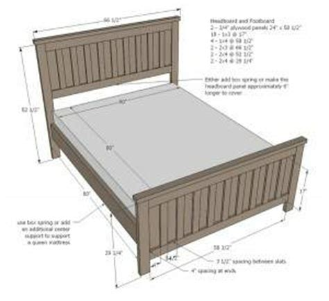 Bed Headboard Size by Home Design Ideasqueen Size Bed Frames