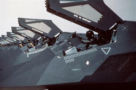 F-117A Nighthawk - Military Aircraft F 117 Stealth Fighter Cockpit