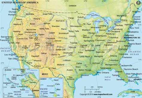 map us physical buy us physical map in green color