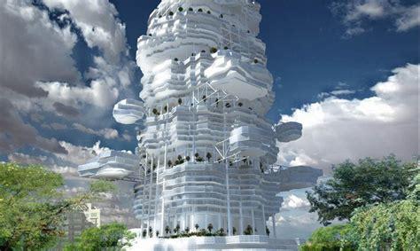 Futuristic Cloud City Skyscraper Could Bring The Dream Of | futuristic cloud city skyscraper could bring the dream of