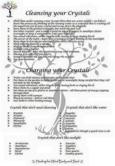 Crystals To Detox The by Crystals Stones Cleansing And Charging Your Crystals