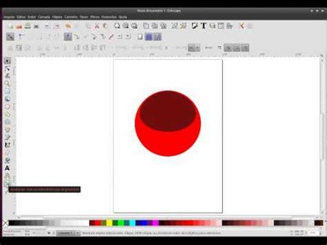 tutorial basico de inkscape tutorial b 225 sico 2 criando uma esfera de cristal no