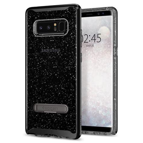 Casing Samsung Galaxy Note 8 Glitter Ring Stand Soft Slim Tpu spigen galaxy note 8 hybrid glitter spigen inc
