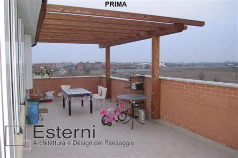 coperture in vetro per terrazzi esterni progetti terrazzi terrazzo con copertura in