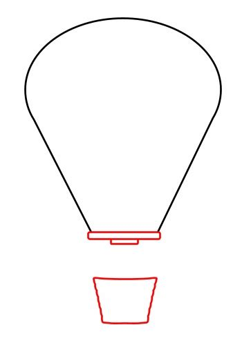 air balloon template air balloon template beepmunk