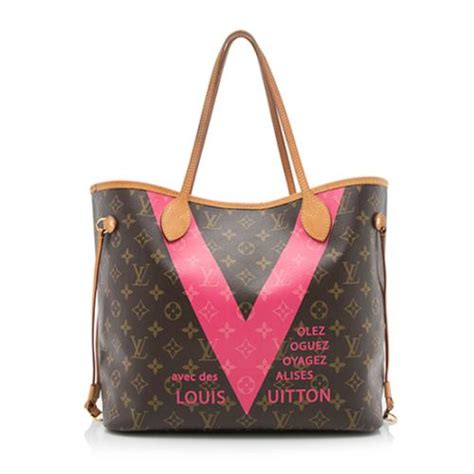 11 7 New Arrival Louis Vuitton Casandra 1888 1 louis vuitton monogram v neverfull mm tote