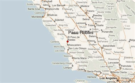 where is el paso located in california usa guide urbain de paso robles