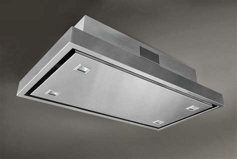 flush mount kitchen exhaust fan ceiling mounted range hood flush mount ceiling fixtures