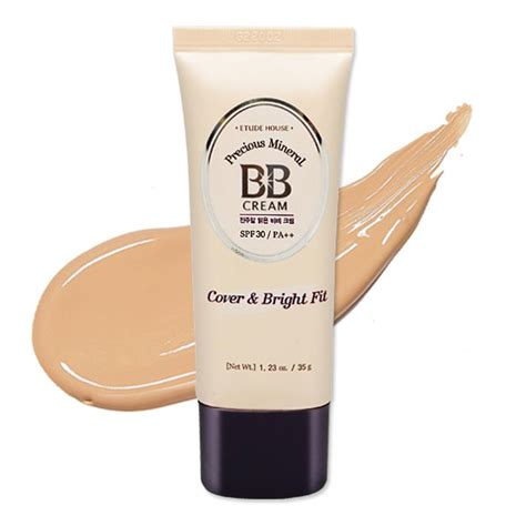 Etude Bb etude house precious mineral bb cover and bright fit