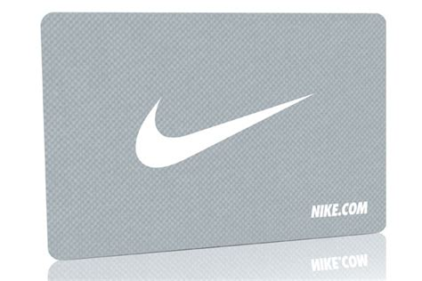 Nike Gift Card Online - nike metal gift card pure metal cards