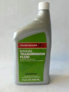 Honda Manual Transmission Fluid Change Genuine Honda Mtf Manual Transmission Fluid Fits Most
