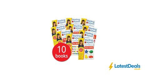 The Book Peoples Bargains by Starting School With Carol Vorderman Collection 10 Books
