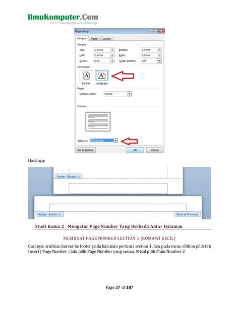 page layout artinya kupas tuntas ms word 2010