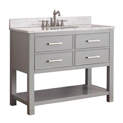 Bathroom Vanity Combos Sale by Avanity Chilled Gray 42 Inch Vanity Combo With
