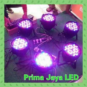 Paket Lu 2 Par 54 Led Rgbw Mixer Dmx 512 1 paket par led 54 lighting prima jaya led