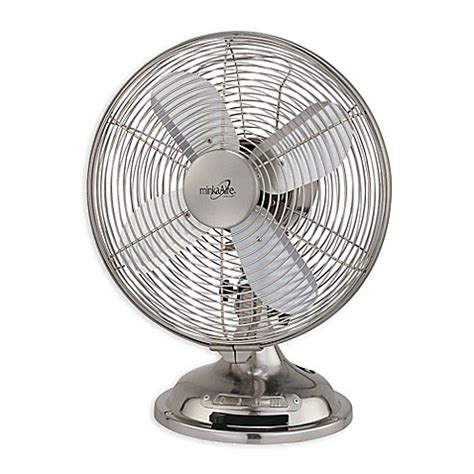 bed bath and beyond fans minka aire 174 retro 10 inch oscillating table fan bed bath