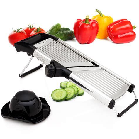 Vegetable Stainless Steel Slicer sterline adjustable mandoline vegetable potato food slicer