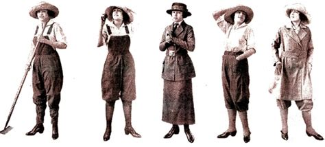 world war i changes fashion recollections