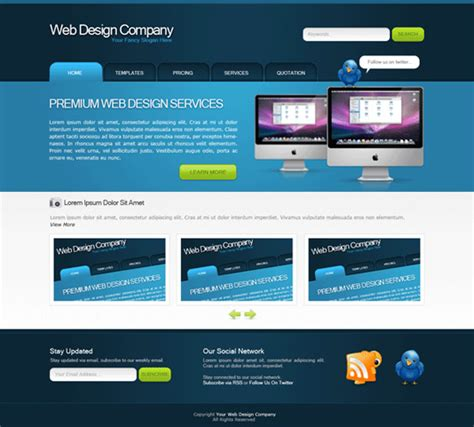 tutorial photoshop template web design 20 high quality photoshop web design tutorials web