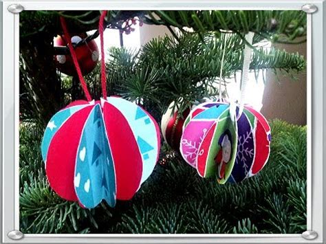 How To Make 3d Paper Ornaments - how to make paper ornaments craft easy