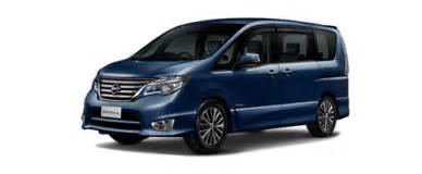 Nissan Serena Hybrid Malaysia Nissan Serena S Hybrid Colours Available In 5 Colours In