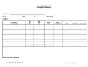budget justification template template budget justification bestsellerbookdb