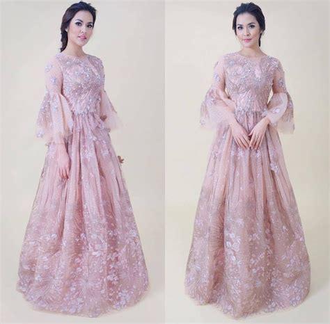 Gamis Pesta Anak 2018 18 inspirasi model gaun pesta muslim modern 2018 terpopuler