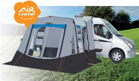 inflatable awnings for motorhomes trigano recife inflatable motorhome awning
