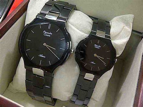 Matic Steel Silver Harga Satuan jual alexandre christie ac 8412 all black index silver