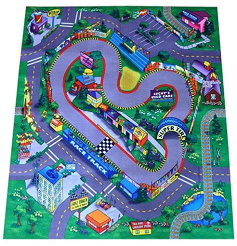 Cars Track Playmat race track felt play mat sports in the uae see prices