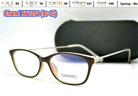 Harga Kacamata Chanel Wanita gambar harga frame kacamata wanita chanel ry2201 baca cat