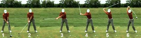 correct golf swing sequence impact