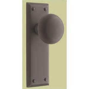 Interior Door Latch Hardware Putman Bevel Edge Brass Door Set 56709ob From Rejuvenation