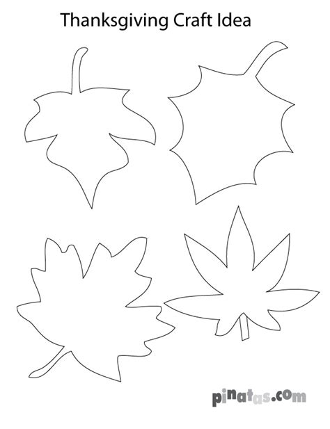 printable turkey leaves thanksgiving craft template fall leaves fall art