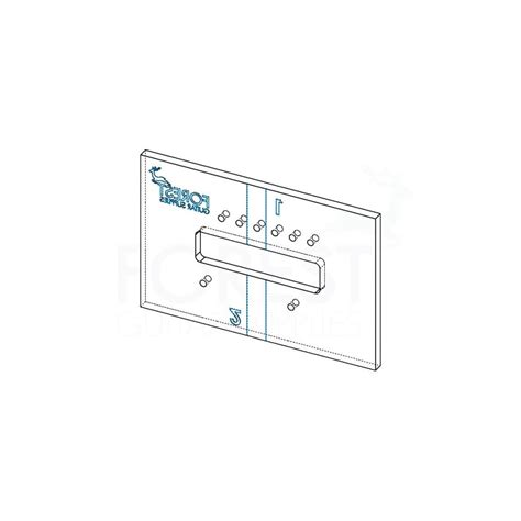 stratocaster routing template stratocaster tremolo bridge routing template set of 2